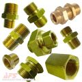 Brass Straight Adaptors BSPT/BSP/NPT/METRIC Threads